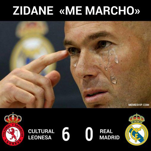 Meme Zidane Real Madrid