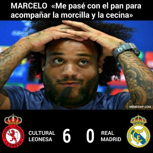 Meme Marcelo Real Madrid
