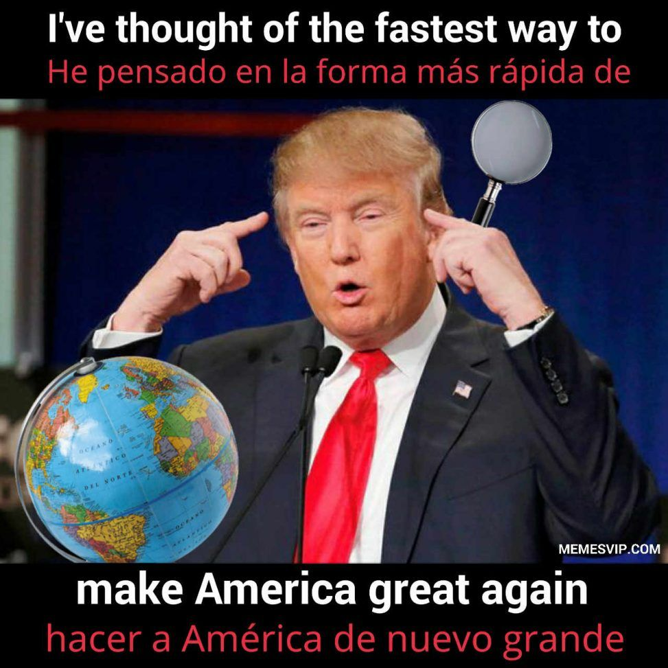 Make America Great Again meme
