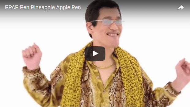 PPAP Pen Pineapple Apple Pen.