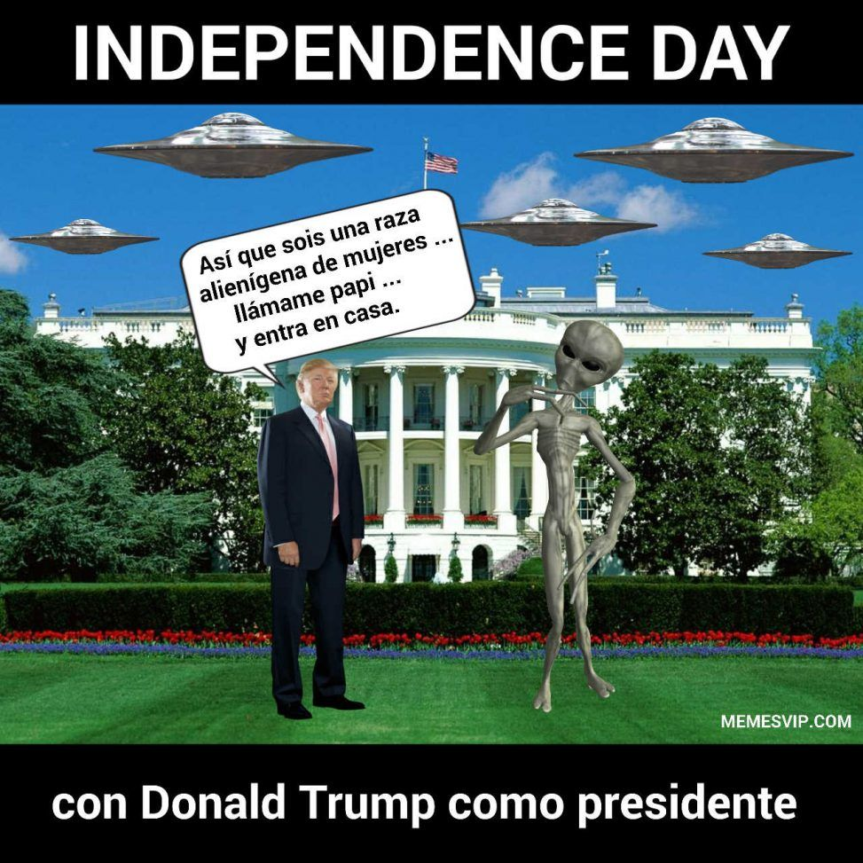 Donald Trump Memes Independence Day