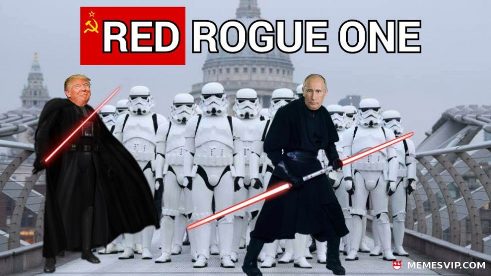 Red Rogue One meme