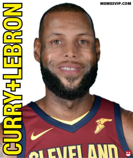Meme King Alien o la suma de Stephen Curry y LeBron James