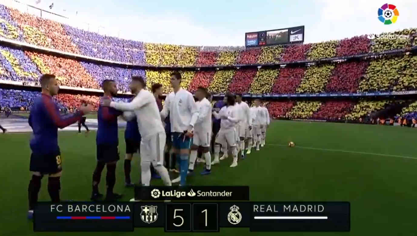 FC Barcelona 5 - Real Madrid 1 (28 oct 2018)